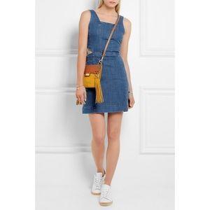 Madewell Cutout Denim Dress